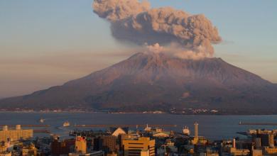 Photo of براكين اليابان ترفع إنذارات الخطر
