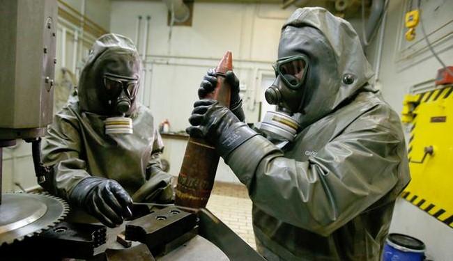 الأسلحة الكيماوية