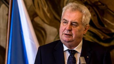 الرئيس التشيكي مليوس زيمان