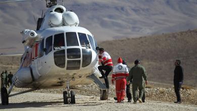 انتشال جثث جديدة لضحايا الطائرة الإيرانية