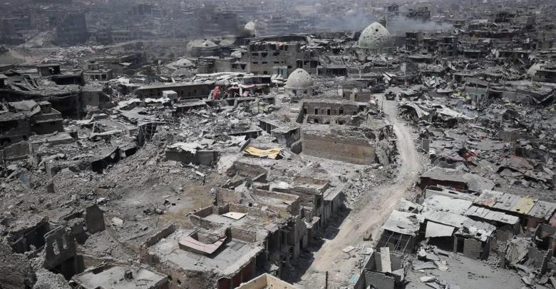 العراق إعادة الإعمار