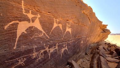 صورة موقع فنون صخرية بالسعودية يستعد لاستقبال السائحين
