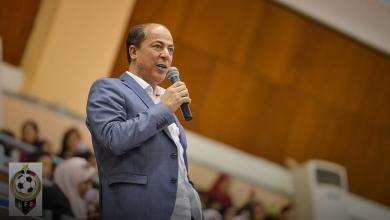 رئيس اتحاد كرة القدم الدكتور جمال الجعفري
