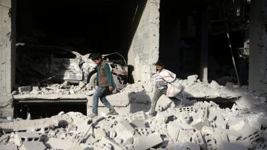 صورة أنباء عن استسلام المعارضة السورية في دوما