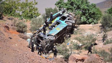 Photo of 44 قتيلا بسقوط حافلة في بيرو