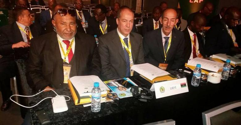 رئيس الاتحاد الليبي جمال الجعفري