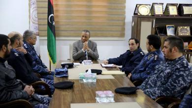 رئيس الوزراء بالحكومة المؤقتة ووزير الداخلية المكلف عبد الله الثني