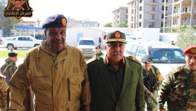 Photo of الناظوري وبوخمادة يبحثان أعمال الغرفة الأمنية