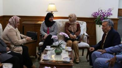 Photo of برلمانيات يصلن أندونيسيا لبحث وضع المرأة