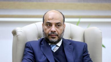 وزير الاقتصاد بالحكومة الليبية منير عصر