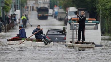 صورة الأمطار تُغرق ولايات أمريكية وتُخلّف ضحايا