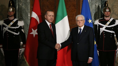 """صورة أوضاع ليبيا تحضر على طاولة """"ماتاريلا وأردوغان"""""""