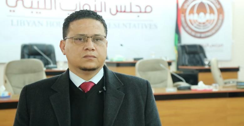الناطق الرسمي باسم مجلس النواب عبد الله بليحق