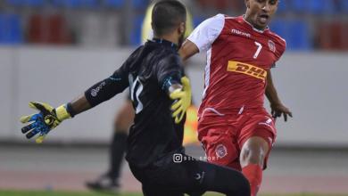 اللاعب الليبي محمد صولة