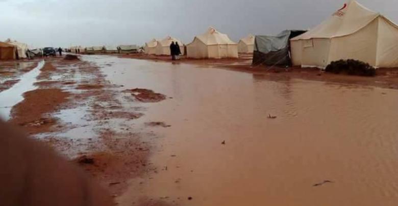 مخيمات اهالي تاورغاء في قرارة القطف