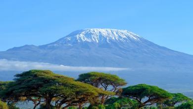 جبل كليمنجارو، تنزانيا