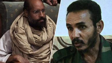 العجمي العتيري وسيف الإسلام القذافي