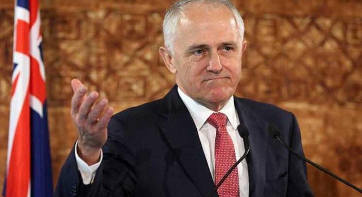رئيس وزراء أستراليا مالكولم ترنبول