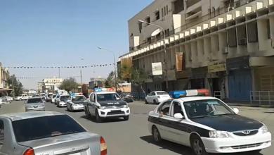 دوريات أمنية تجوب شوارع سبها