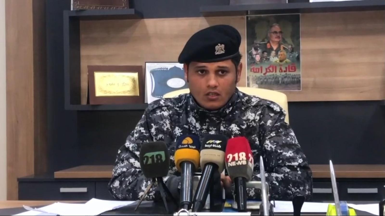 مسؤول مكتب الإعلام الأمني بوزارة الداخلية رائد طارق الخراز