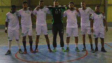 فريق النصر لكرة اليد 2018