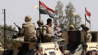 صورة الجيش المصري: مقتل 10 إرهابيين بسيناء