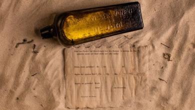 Photo of العثور على أقدم رسالة داخل زجاجة