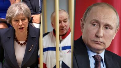"""صورة """"الجاسوس"""" يشعل النار بين روسيا وبريطانيا"""