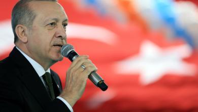 الرئيس التركي طيب إردوغان
