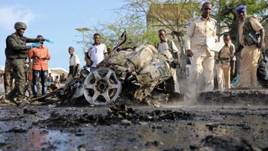 تفجير قرب برلمان الصومال