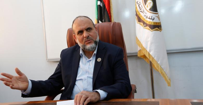 رئيس بلدية الزنتان مصطفى الباروني
