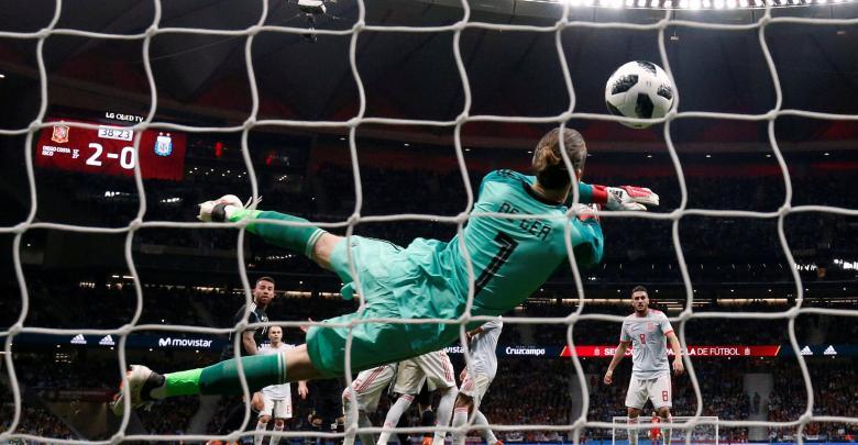 مباراة أسبانيا والأرجنتين