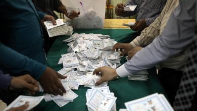 فرز الأصوات بالانتخابات المصرية