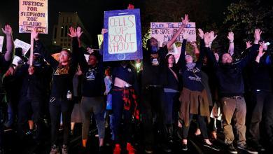 احتجاجات بكاليفورنيا