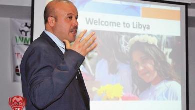 حسين طويلب رئيس الاتحاد الليبي