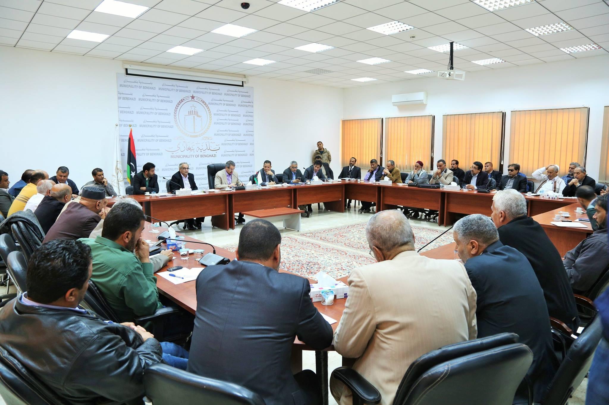 عميد بلدية بنغازي المستشار عبدالرحمن العبار،