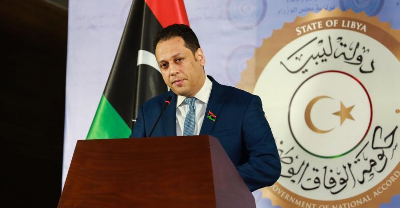 المتحدث باسم رئيس المجلس الرئاسي فائز السراج محمد السلاك