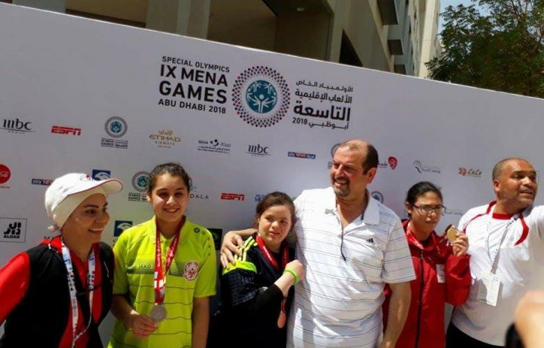 صورة للمشاركين الليبين