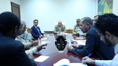 اللجنة المكلفة بمتابعة تنفيذ اتفاق تاورغاء ومصراتة الأوضاع الصحية لنازحي تاورغاء بمخييم قرارة القطف