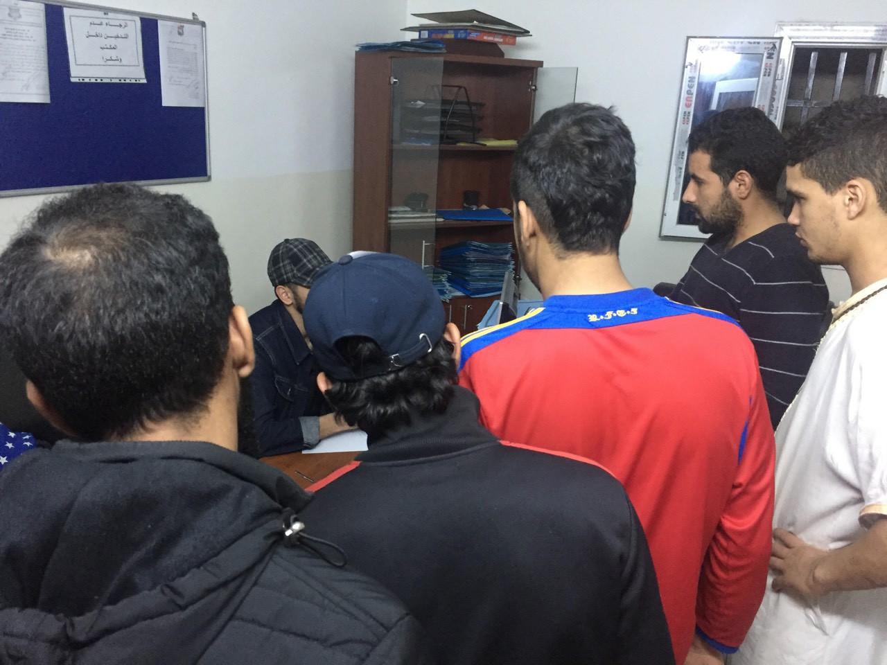 المهاجرين غير الشرعيين من الجنسية المغربية
