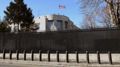 Photo of تهديد أمني يغلق السفارة الأمريكية بأنقرة