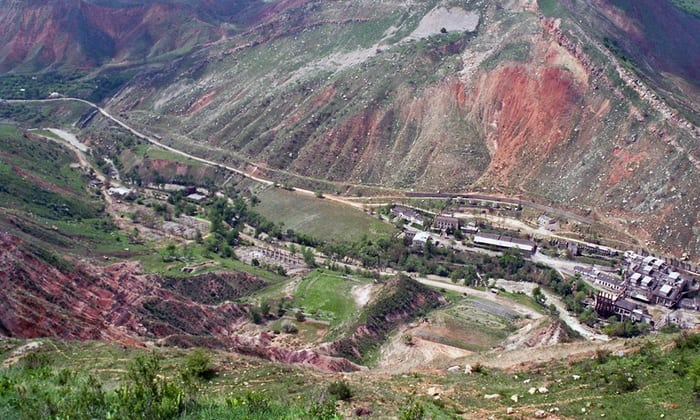 مايلاو سوو في قيرغيزستان