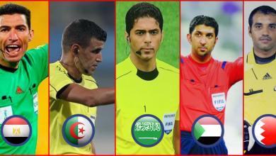 Photo of 5 صافرات عربية في المونديال