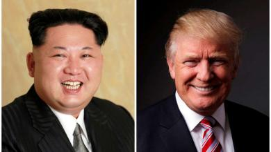 ترامب وجونغ أون