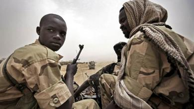 متمردي دارفور