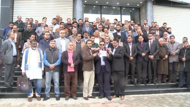 مدراء المراكز والمستشفيات الطبية التابعة للحكومة المؤقتة في البيضاء