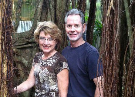جيري كراوزا وزوجته