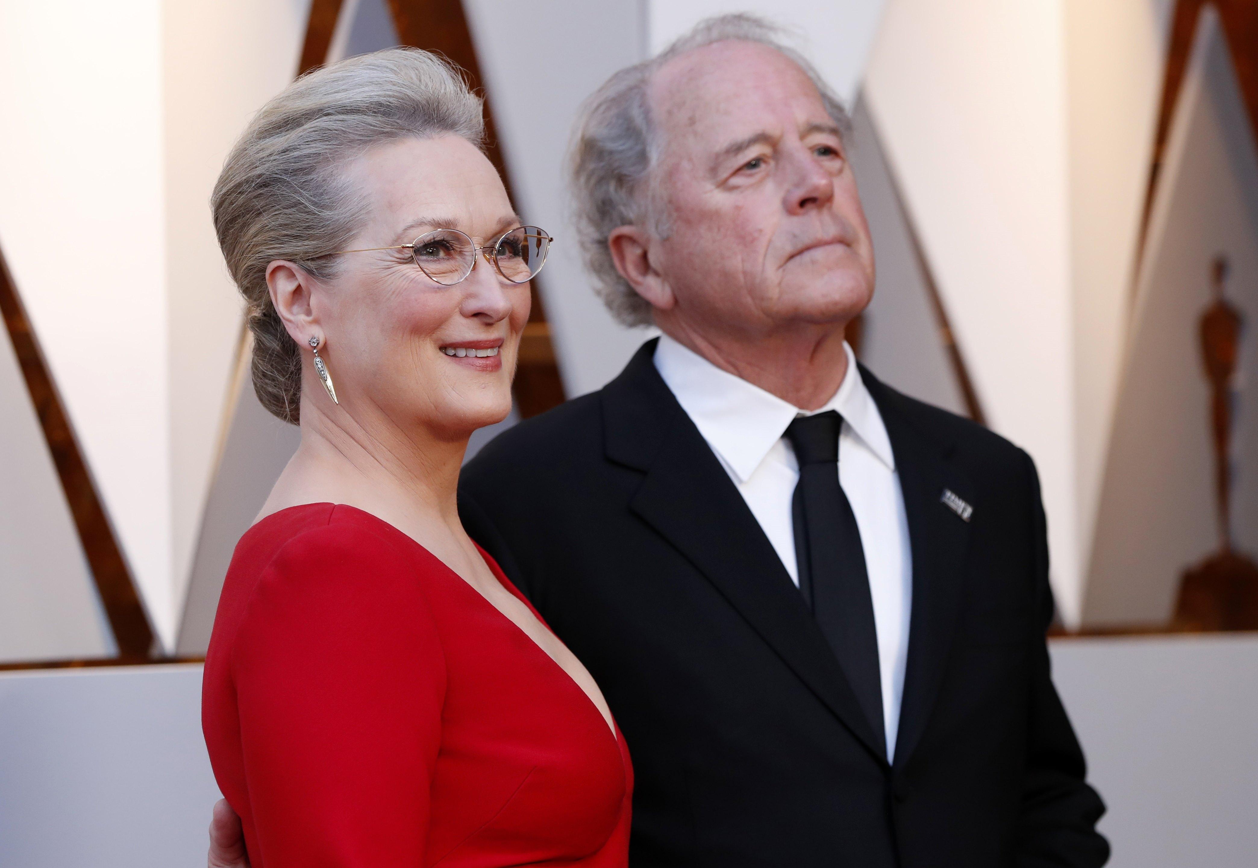 ميريل ستريب مع زوجها دون غامر