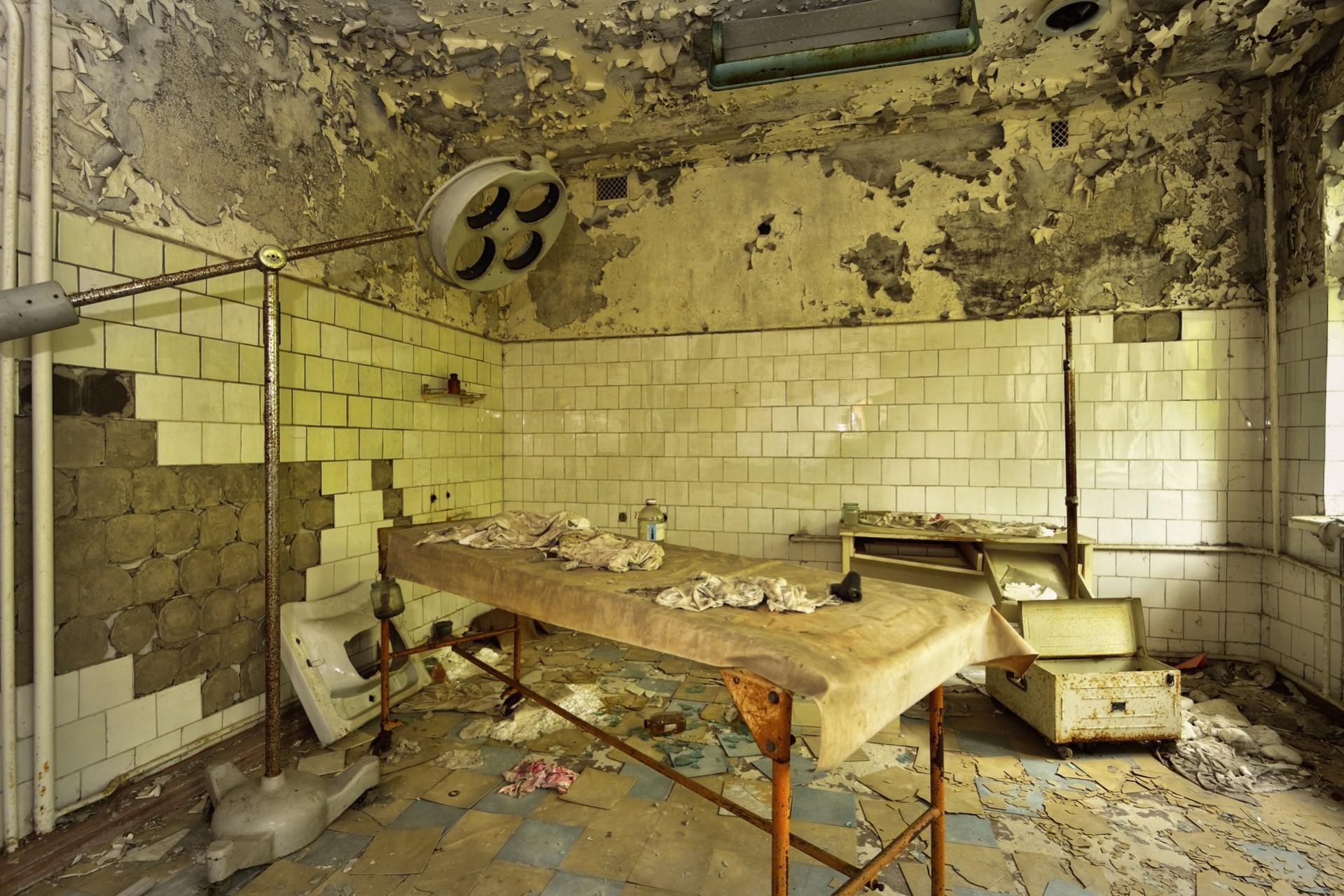 مستشفى بريبيات في أوكرانيا