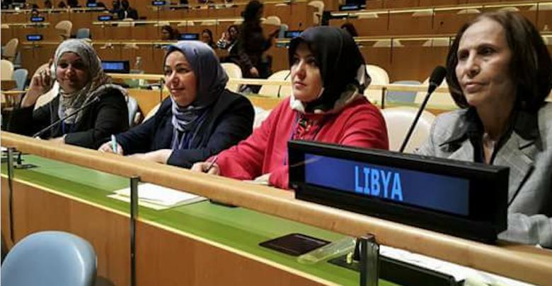 الجلسة الأولى من الدورة 62 للجنة وضع المرأة في الأمم المتحدة